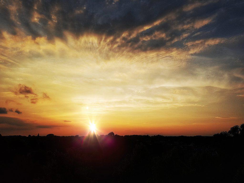 Sonnenuntergang Thüringen